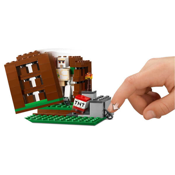LEGO Minecraft Pillager Karakolu 21159