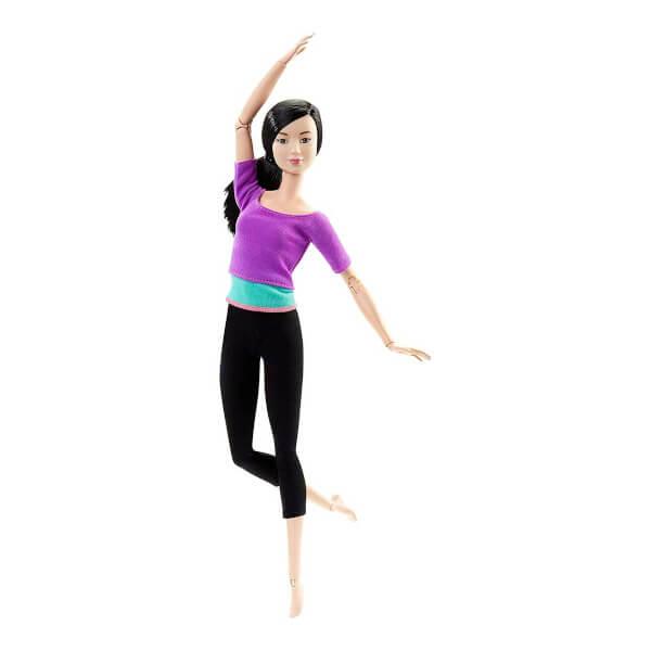 Barbie Sonsuz Hareket Bebeği DHL84