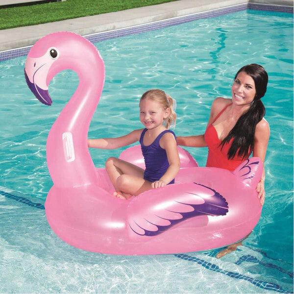 Flamingo Şekilli Şişme Bot