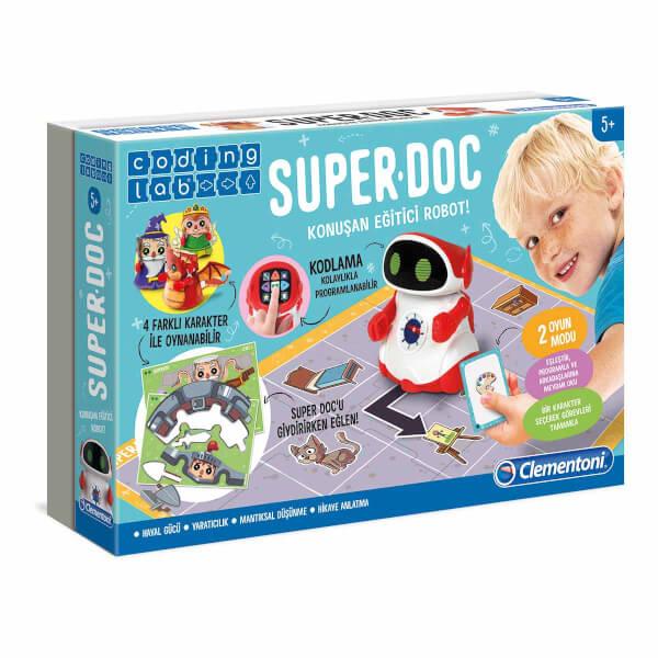 Clementoni Süper Doc Eğitici Konuşan Robot