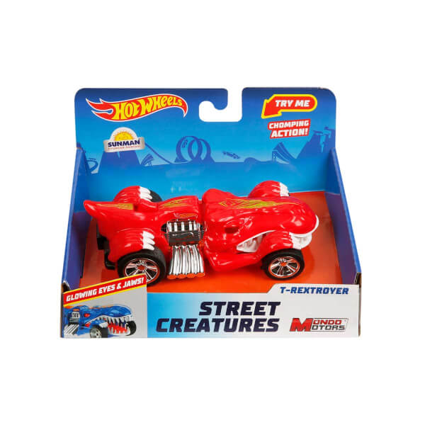 Hot Wheels Sesli ve Işıklı Street Creatures Araba 13 cm.