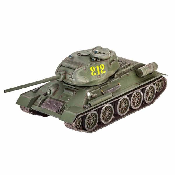 Revell 1:72 Seti 1:72 T-34-85 Tank 03302