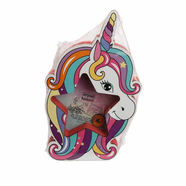 Unicorn Çerçeveli Kumbara