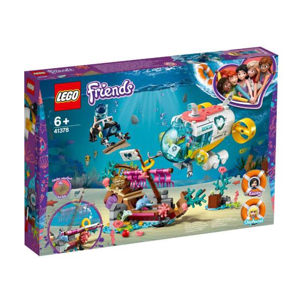 LEGO Friends Yunus Kurtarma Görevi 41378