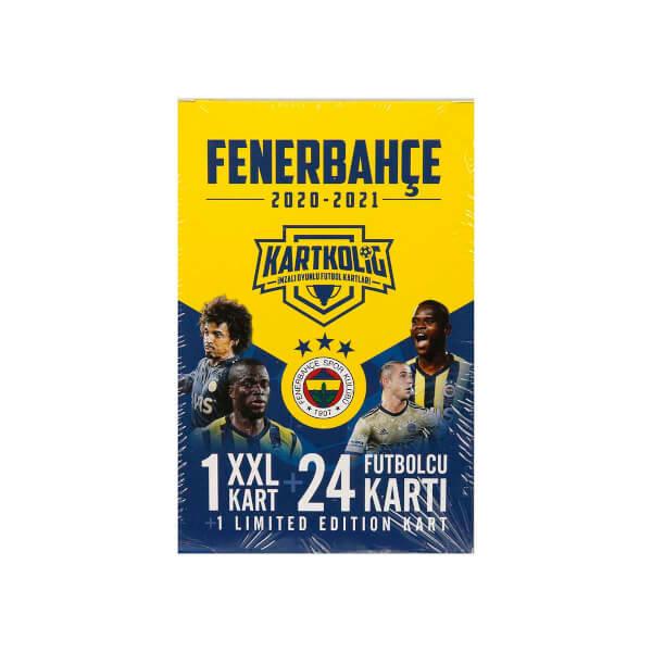 Fenerbahçe 2020-2021 Sezon İmzalı Oyunlu Futbolcu Kartları
