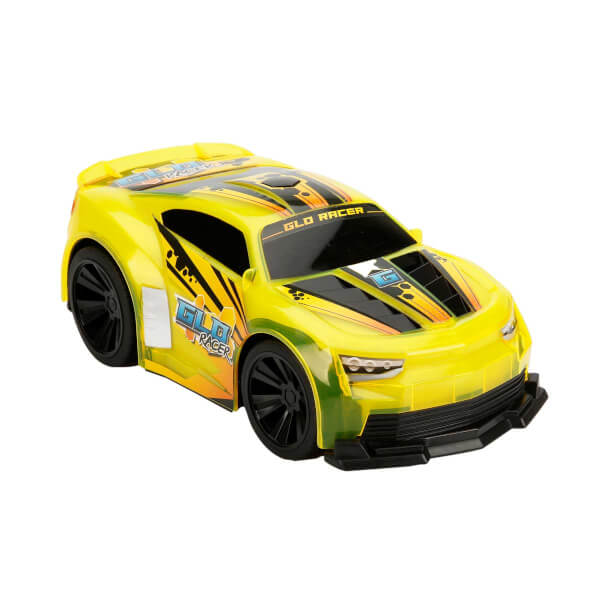1:16 Uzaktan Kumandalı Sesli ve Işıklı Glo Racer Araba 28 cm.