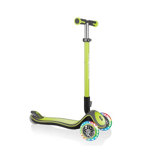 Elite Lights 3 Tekerlekli Katlanabilir Yeşil Scooter
