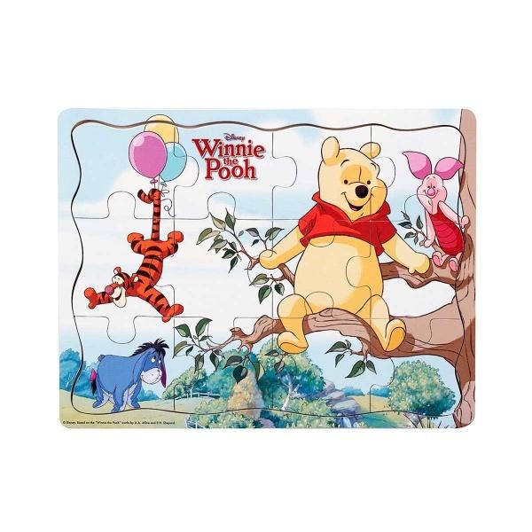 Woody Winnie The Pooh Mevsimler Ahşap Puzzle 9 Parça