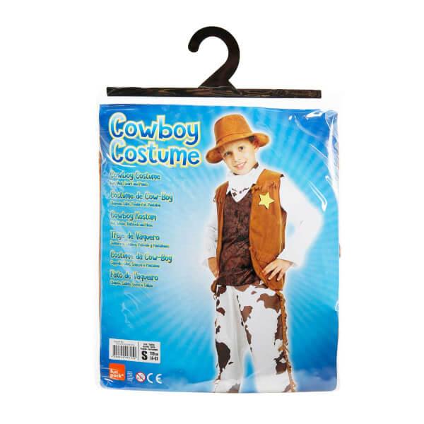 Kovboy Erkek Kostüm S Beden