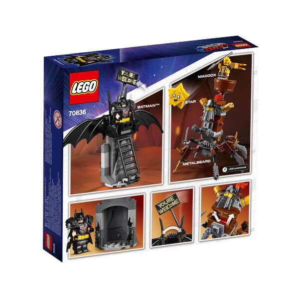 LEGO Movie 2 Savaşa Hazır Batman ve MetalSakal 70836