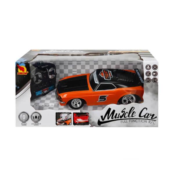 1:16 Muscle Uzaktan Kumandalı Işıklı Araba 25 cm.