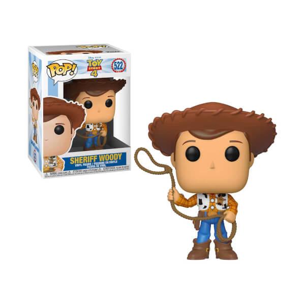 Funko Pop Toy Story 4: Woody Figür