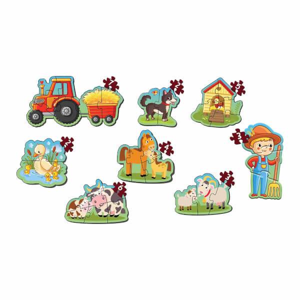 Baby Puzzle Benim İlk Çiftlik Puzzle'm