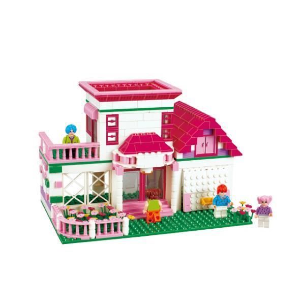 Tatlı Kız Yapı Seti: Villa - Araba