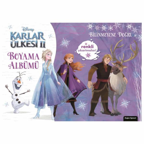 Disney Frozen 2 Boyama Albümü : Bilinmeyene Doğru