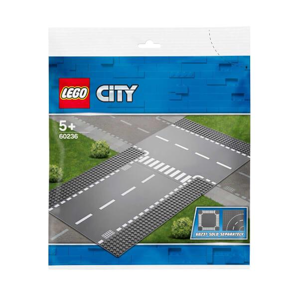 LEGO City Supplementary Düz ve T Kavşak 60236