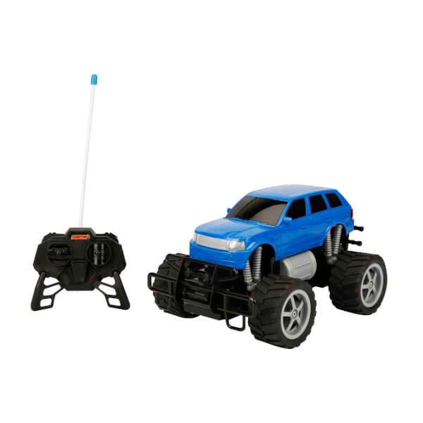 1:18 Uzaktan Kumandalı Jumbo Wheels Usb Şarjlı Araba 26 cm.