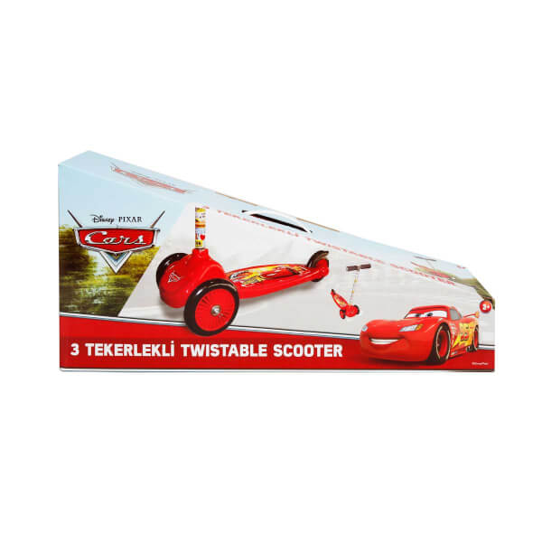 Cars 3 Tekerlekli Twistable Scooter