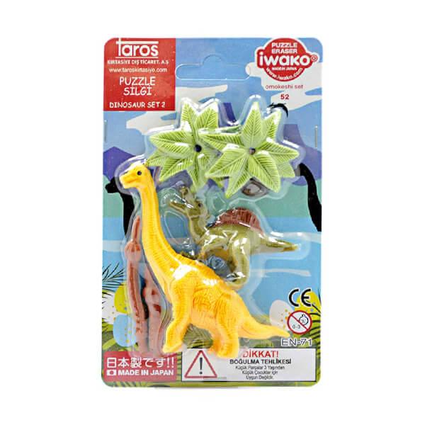 Iwako Dinozor Silgi Seti 6'lı 52 Parça
