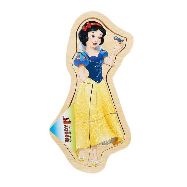 Disney Princess Ahşap Puzzle 6 Parça