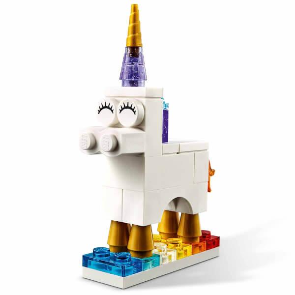 LEGO Classic Yaratıcı Şeffaf Yapım Parçaları 11013