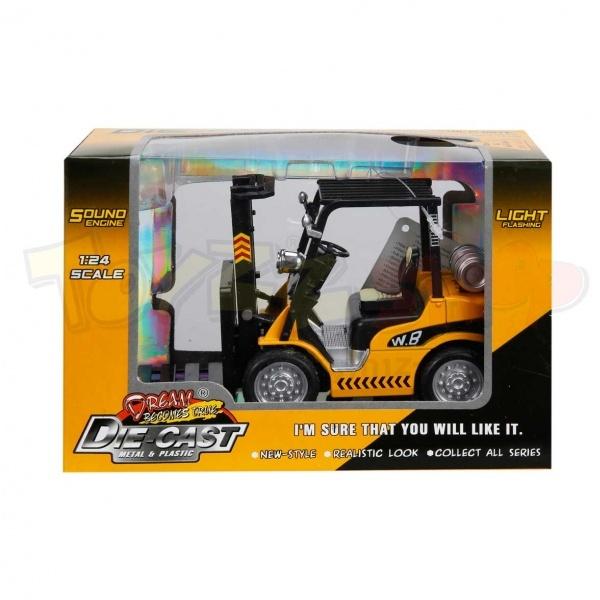 1:24 Sesli ve Işıklı Forklift