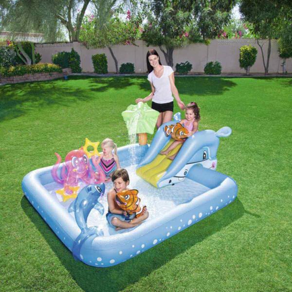 Kaydıraklı Fıskiyeli Havuz