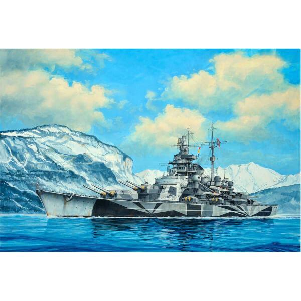 Revell 1:1200 Tirpitz Gemi 5822