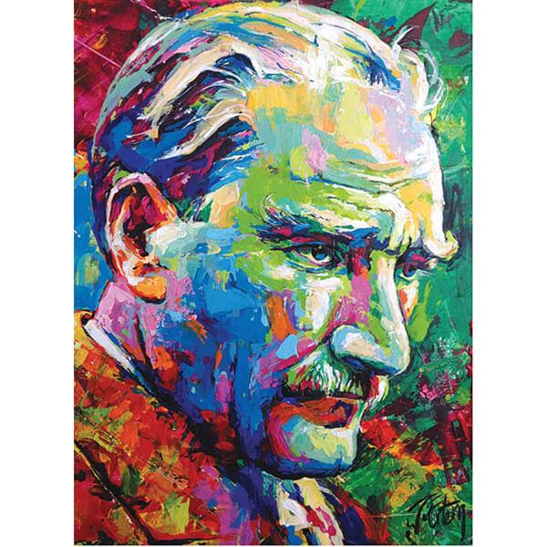 1000 Parça Puzzle : Mustafa Kemal ATATÜRK 2018