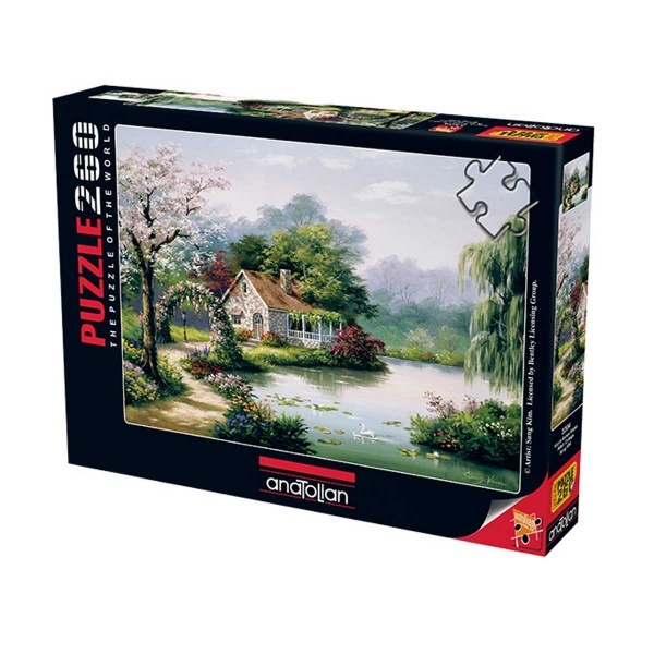260 Parça Puzzle: Küçük Bahçe Köşkü