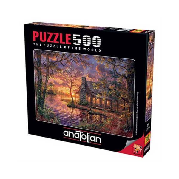 500 Parça Puzzle : Gizli Yer