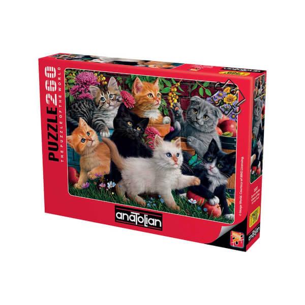 260 Parça Puzzle : Oyuncu Kediler
