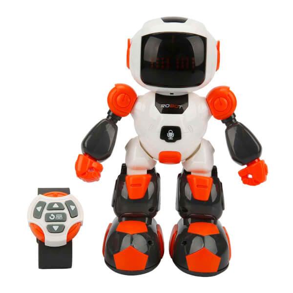 Uzaktan Kumandalı Sesli ve Işıklı Programlanabilir Robot