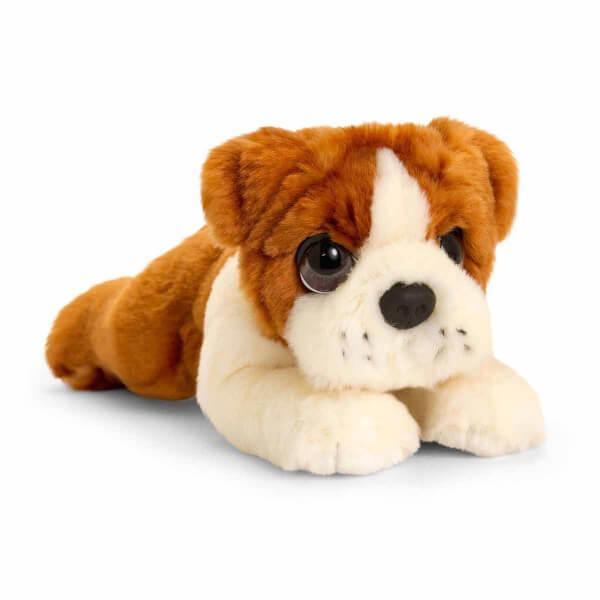 Bulldog Peluş Köpek 25 cm.