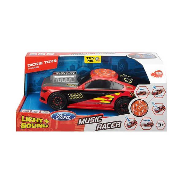 Sesli ve Işıklı Music Racer 23 cm.