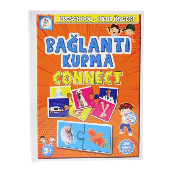 Bağlantı Kurma Okul Öncesi Oyun Seti 40 Parça