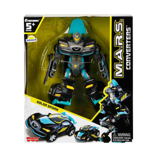 M.A.R.S. Araca Dönüşebilen Robot