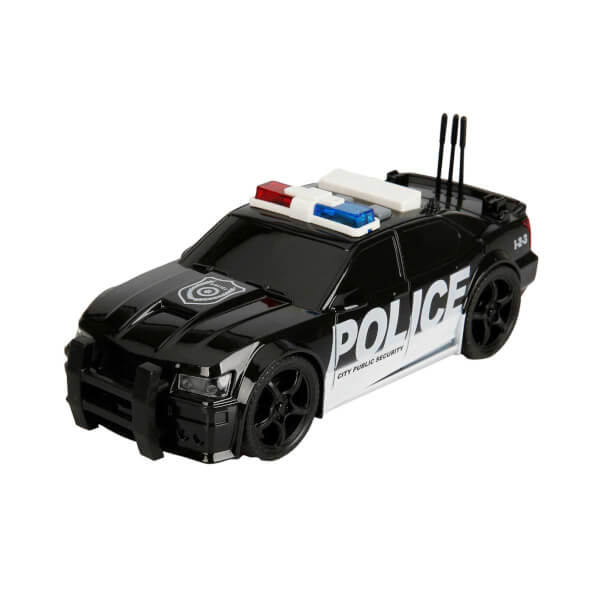 1:20 Maxx Wheels Sesli ve Işıklı Polis Arabası 19 cm.
