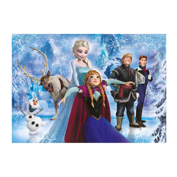 104 Parça Puzzle : Brilliant Frozen
