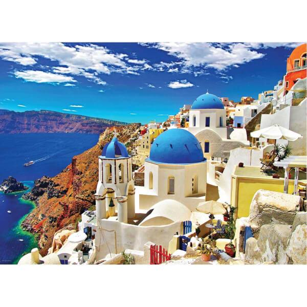1000 Parça Puzzle : Oia - Santorini