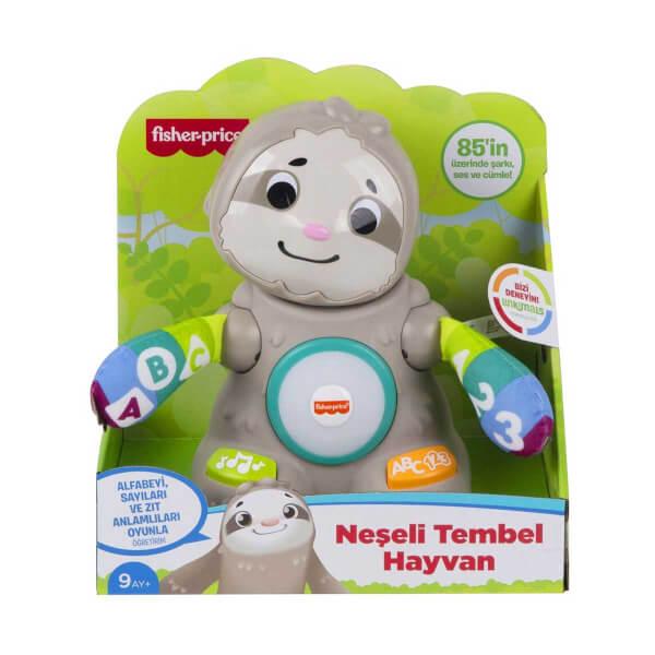 Fisher Price Linkimals Neşeli Tembel Hayvan Türkçe GHY93