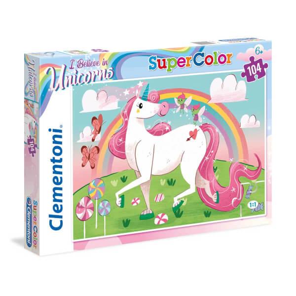 104 Parça Puzzle : Unicorn