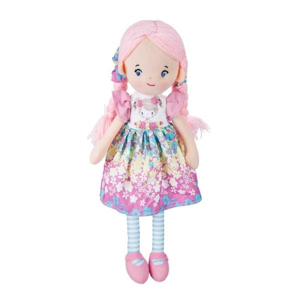 Çiçekli Elbiseli Ece Bebek 50 cm.