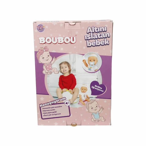 Boubou Altını Islatan Konuşan Bebek Seti 30 cm.