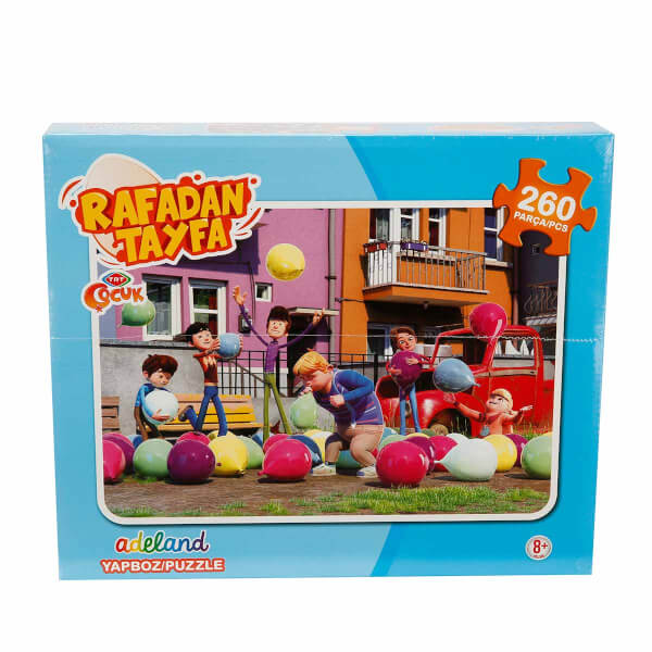 260 Parça Puzzle: Rafadan Tayfa