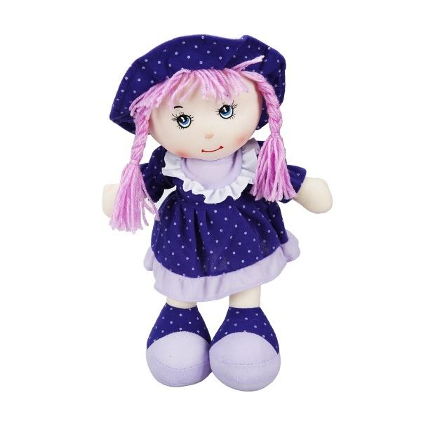 Puantiyeli Elbiseli Ece Bebek 35 cm.