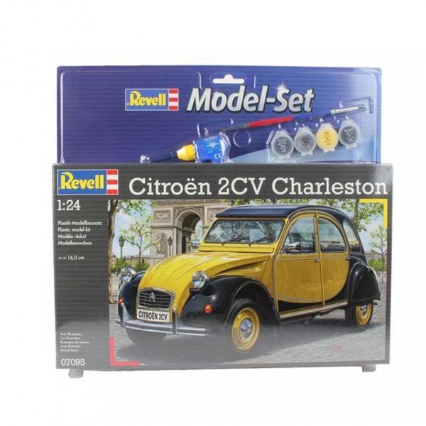 Revell 1:24 Citroen 2CV Model Set Araba