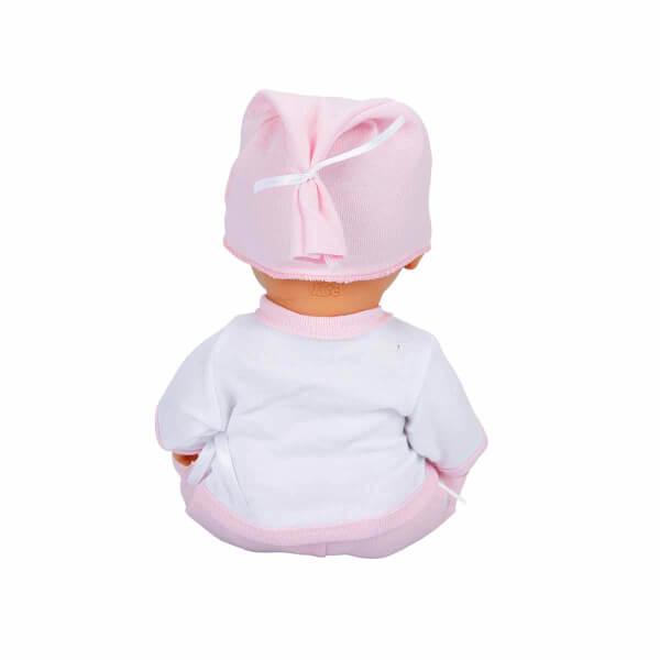 Bebelou Tuvalet Zamanı Sesli Bebek Seti 35 cm.