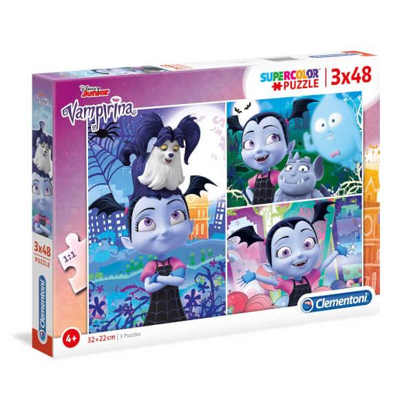 3 x 48 Parça Puzzle : Vampirina