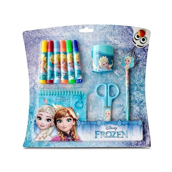 frozen 10 lu kirtasiye seti